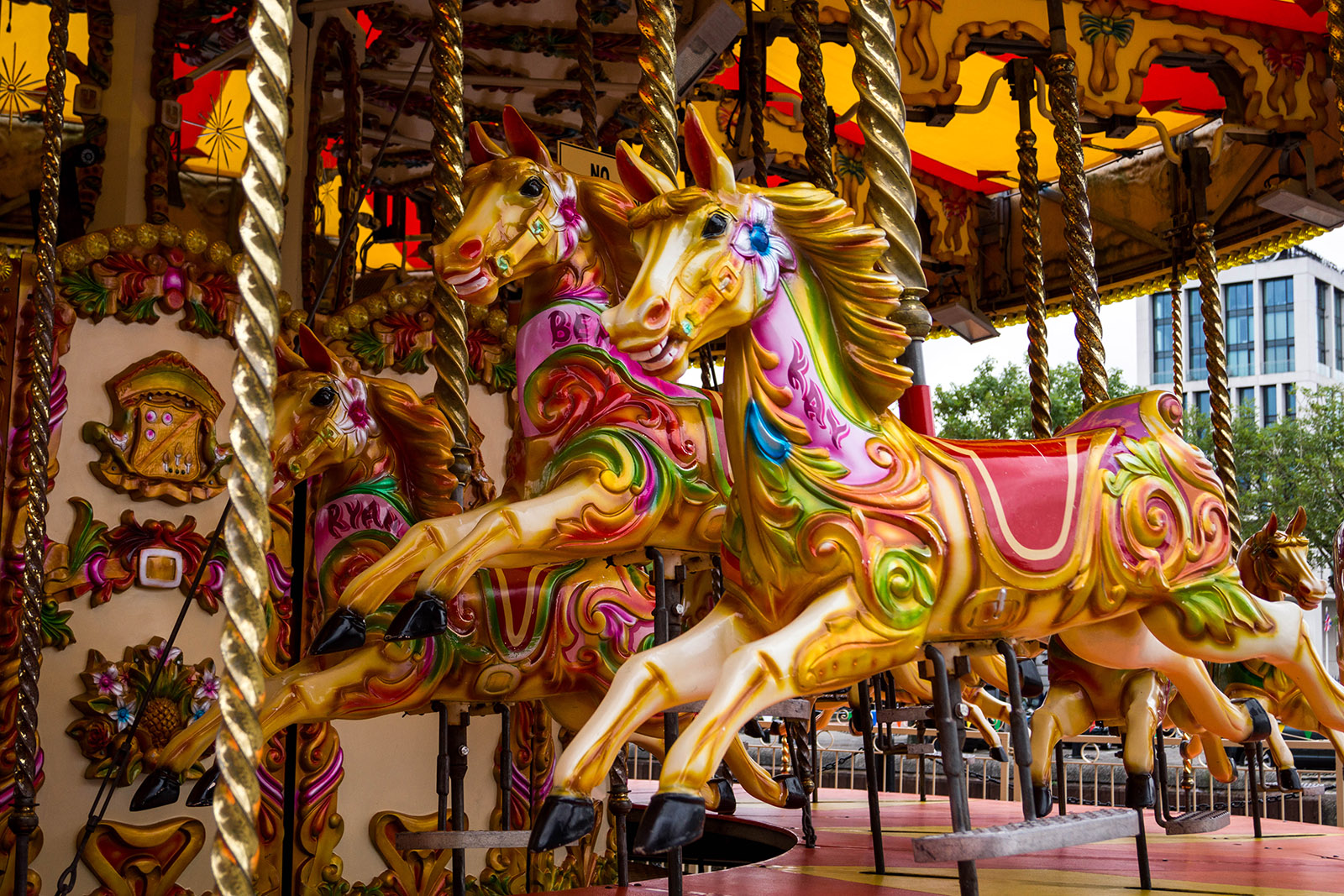 Carousel copyright @ Ashley Bremer