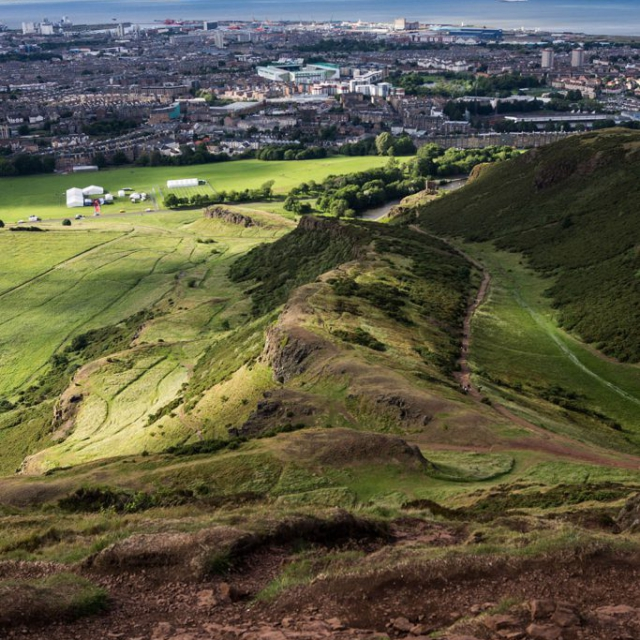Arthur's Seat copyright @ Ashley Bremer