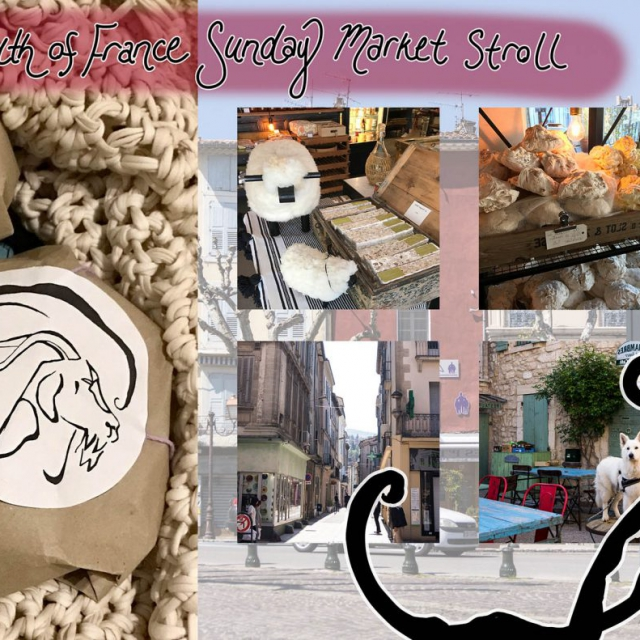 French Market mood board photographs taken by the artist copyright @ Ashley Bremer