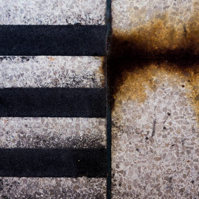 Abstract Black Stripes copyright @ Ashley Bremer