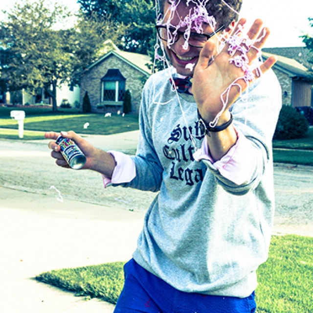 Silly String copyright @ Ashley Bremer